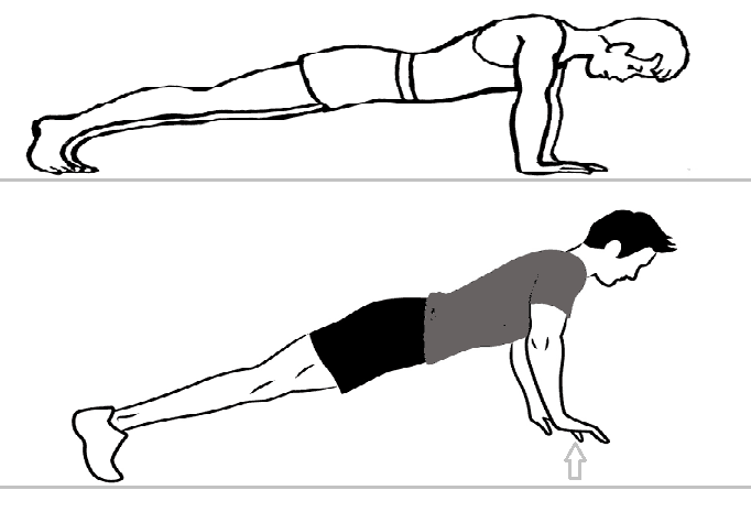 plyometric pushup exercise