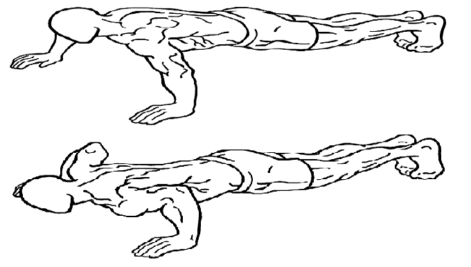 wide pushup exercise
